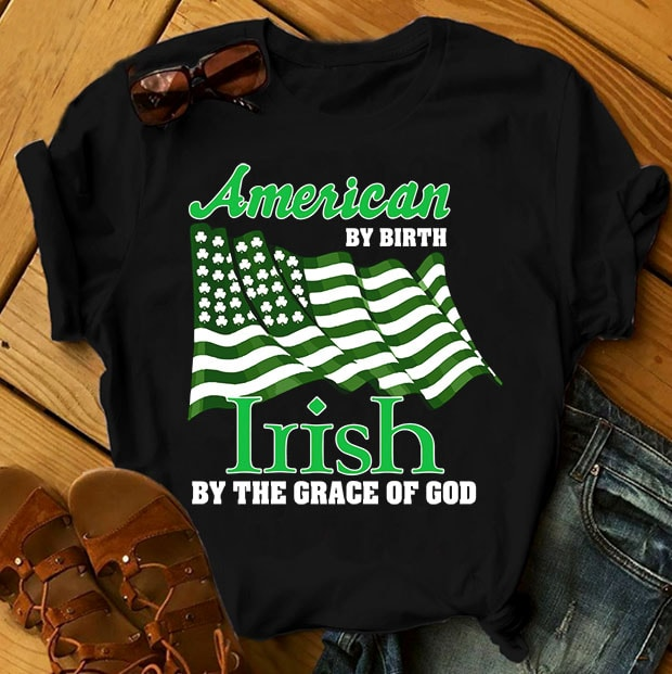 SPECIAL ST PATRICK's DAY PART 2- 101 EDITABLE DESIGNS – 90% OFF – PSD and PNG – LIMITED TIME ONLY! buy t shirt design artwork