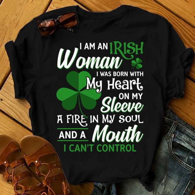 SPECIAL ST PATRICK's DAY PART 3- 101 EDITABLE DESIGNS – 90% OFF – PSD and PNG – LIMITED TIME ONLY! buy t shirt design artwork