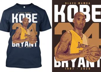 RIP Kobe Design design for t shirt