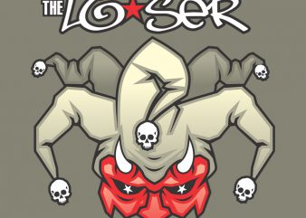 LOSER t shirt design for purchase