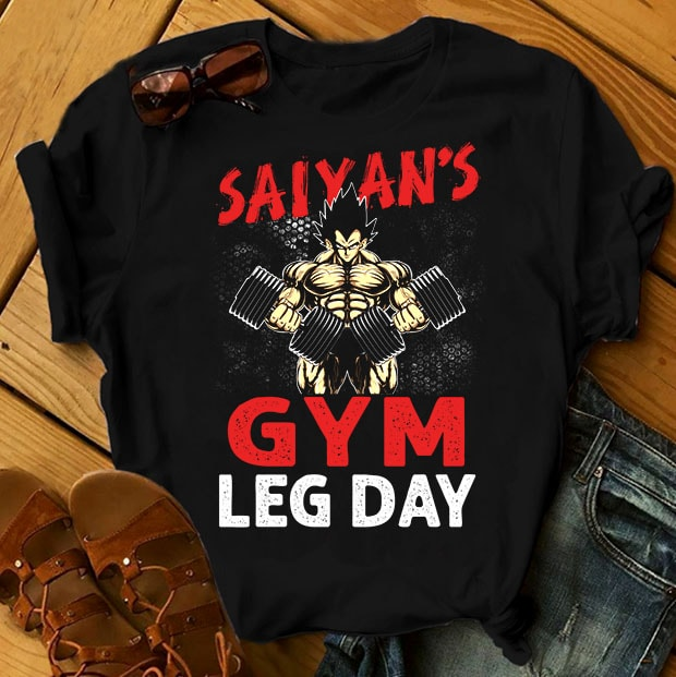 GYM Bundle Part 1 – 50 Designs – 90% OFF tshirt design for merch by amazon