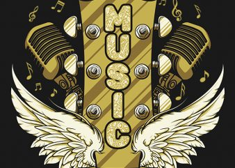 Musicians Soul t shirt design for download