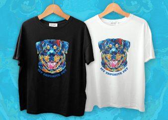My Favorite Pet T-Shirt Design