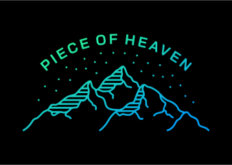 Peace of Heaven buy t shirt design for commercial use