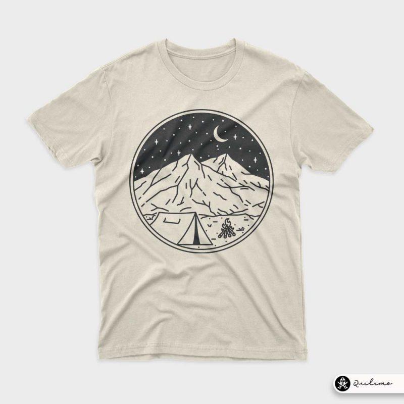Night Camping T-Shirt