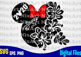 Disney Trip 2020, Mickey mouse, Mickey head, Mickey Ears, Minnie mouse, For Girl, Funny Mickey mouse design svg eps, png files for cutting machines and print t shirt designs for sale t-shirt design png