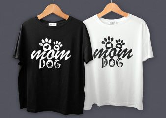Mom Dog T-Shirt Design