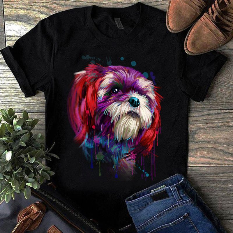 Super Cool Dog Hand Drawn Bundle – Part 4 -23 Designs tshirt design for merch by amazon