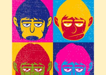 THE BEATLES buy t shirt design for commercial use