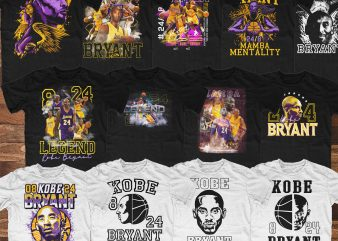 KOBE BRYANT Shirt Designs – 90% OFF!!!