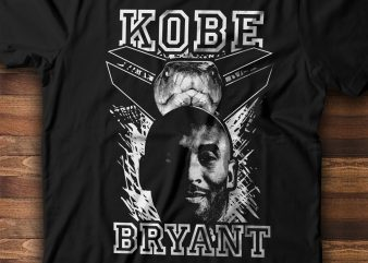 KOBE BRYANT The Black Mamba t shirt design to buy