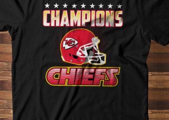 Super Bowl Champion – Kansas City CHIEFS buy t shirt design