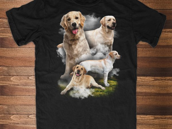 Labrador Retriever Dog t shirt design for sale