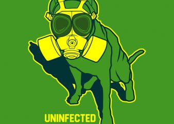 UNINFECTED t shirt design for purchase