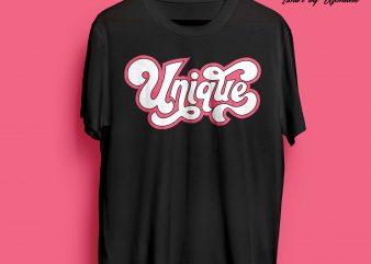Unique-Typography buy t shirt design artwork