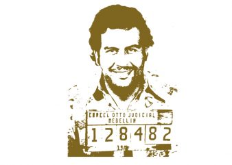 Pablo Escobar t shirt design for purchase