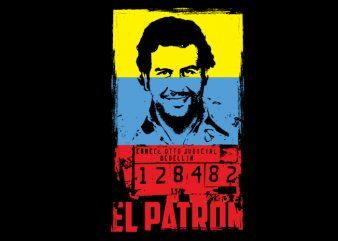 el patron buy t shirt design for commercial use