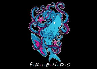 Friends Friends t-shirt design for sale