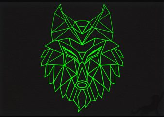 Wolf Poly buy t shirt design artwork