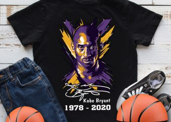 Kobe Bryant Mamba out 1978 – 2020 Basketball T shirt design
