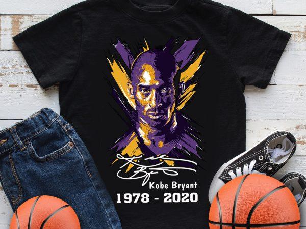 Kobe Bryant Mamba out 1978 – 2020 Basketball T shirt design