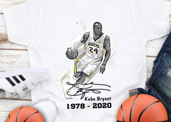 Kobe Bryant Mamba out 24 Basketball T shirt design