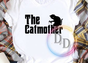 The Cat Mother Gifts Mother's day buy t shirt design for commercial use