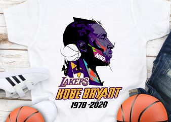 Rip Kobe Bryant 1978 -2020 Legends Basketball T shirt design