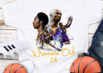 Kobe Bryant 1978 -2020 Legends Basketball T shirt design