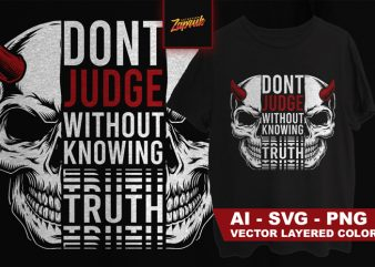 Cool Skull quotes #1- Tshirt design for sale
