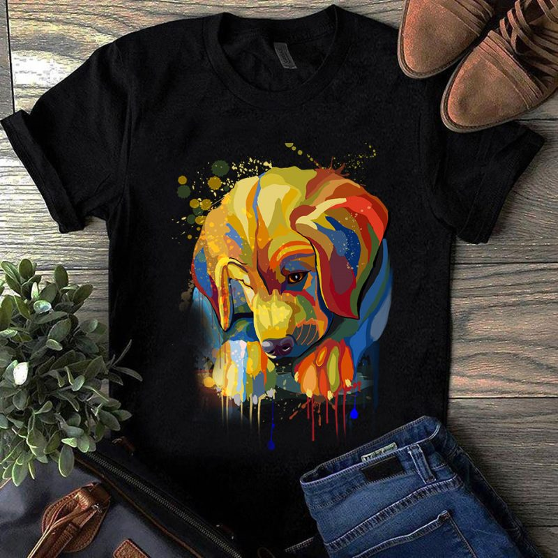 Super Cool Dog Hand Drawn Bundle – Part 2 – 22 Designs t-shirt design for merch by amazon