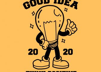 good idea tshirt design