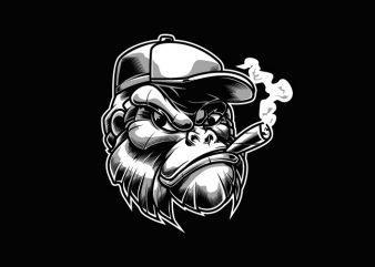 Gorilla buy t shirt design