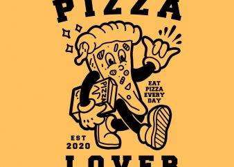 pizza lover tshirt design