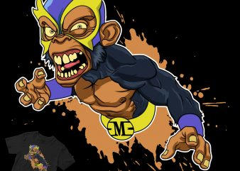 super monkey buy t shirt design