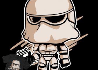 trooper the mandalorian pop culture evolution cartoon 1 t-shirt design png
