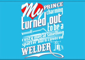 Welder Wife shirt design png