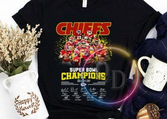 Chiefs Super Bowl Champions 2020 NFL T t shirt design for sale