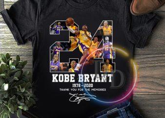 Kobe Bryant T shirt | Rip Kobe Bryant Legend Black Mamba 1978 – 2020 design for t shirt ready made tshirt design