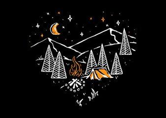 Night in Love buy t shirt design artwork