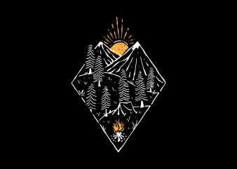Camping buy t shirt design