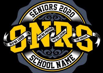 seniors 2020 buy t shirt design artwork