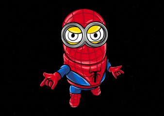 Mini Spider Vector commercial use t-shirt design