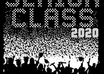 Senior Class 2020 (B) buy t shirt design for commercial use