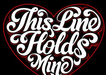 This Hold Your Mine t-shirt design for sale