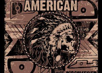 PROUD NATIVE AMERICAN t shirt design to buy