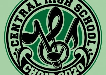 Choir 2020 B t-shirt design for sale