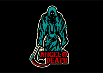 Angel of Death t-shirt design for sale