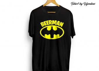 BEERMAN t shirt design for purchase