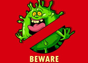 BEWARE t shirt design for purchase
